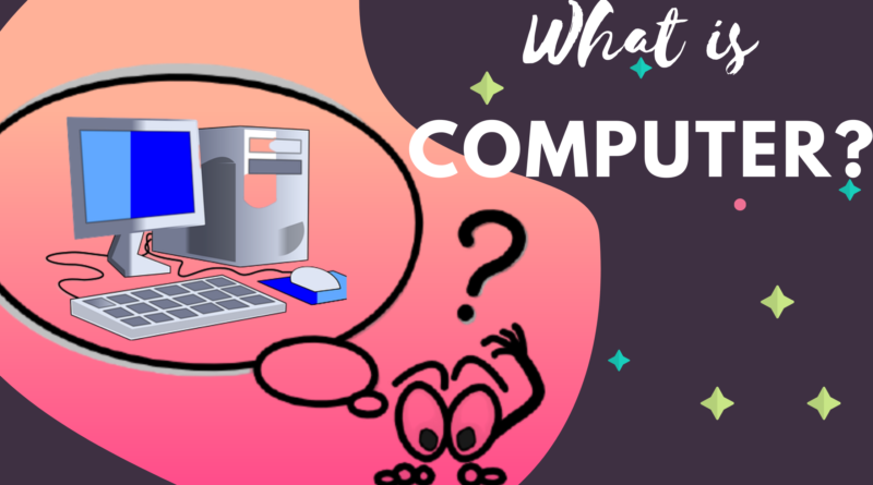 What is Computer full form of computer